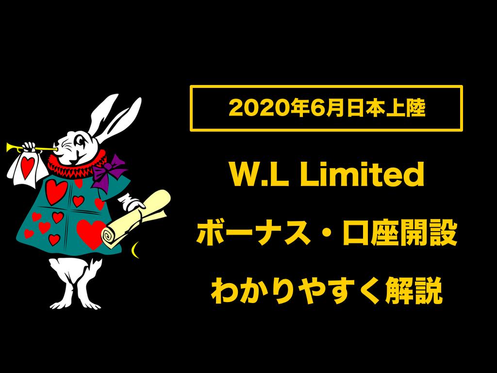 【2020年6月日本上陸】WonderLand FXのボーナスや口座開設方法についてわかりやすく解説!!